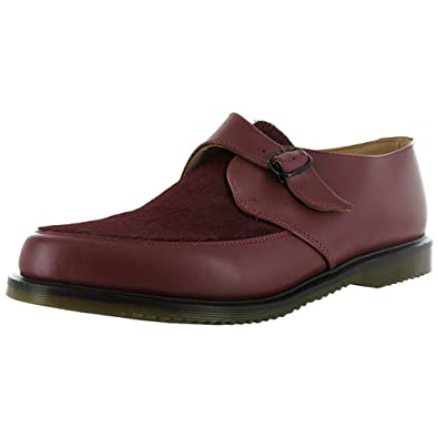 359ed4a7027e Amazon.com | Dr. Martens Men's 'Ashland' Pointed Monk Shoe, Cherry Red, UK  3 | Oxfords