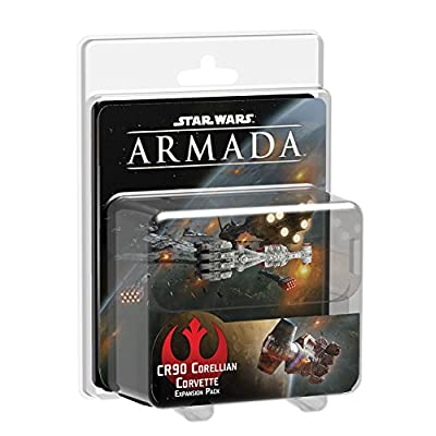 Star Wars: Armada - Corellian Corvette: Fantasy Flight Games: Toys & Games