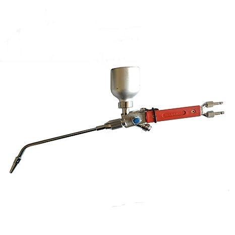 Antorcha de alta calidad de polvo de metal spray de soldadura, oxígeno acetileno llama soplete