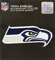 Team ProMark Seattle Seahawks Heavy Duty Aluminum Color Emblem, Medium (60471), Team Color
