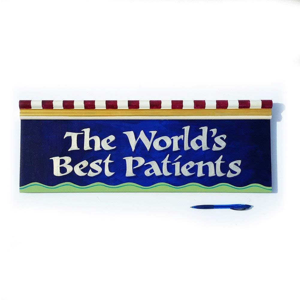 Children's Waiting Room Doctor's Office Sign World's Best Patients