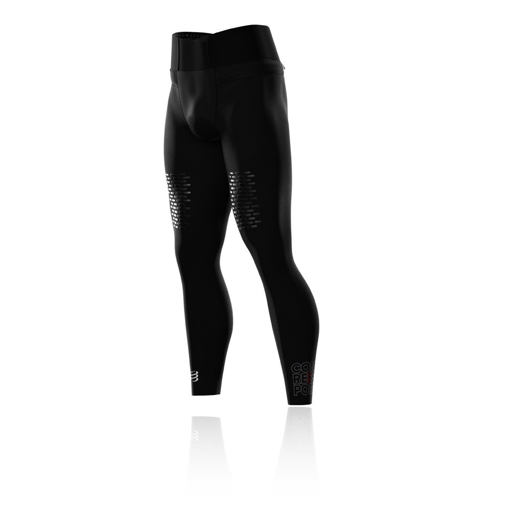 Compressport Under Control Trail Running Full Tight - SS19 - Medium - Black by Compressport (Image #3)