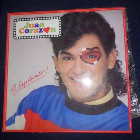 Chicos Velvet - El Espectaculo, Juan Corazon, Formato LP Vinyl
