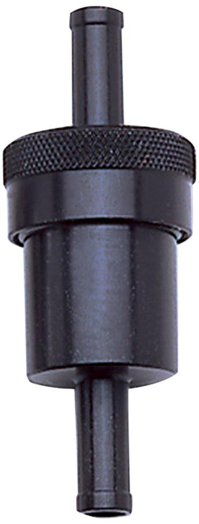 Edelbrock/Russell 645150 Black Aluminum Street Fuel Filter RUS-645150