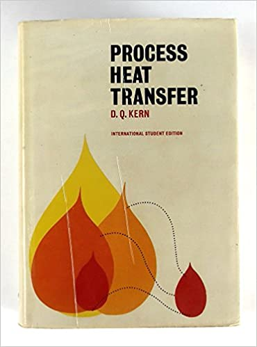 Process Heat Transfer D Q Kern 9780070341906 Amazon Com Books