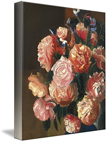 Wall Art Print entitled BORIS GRIGORIEV, (1886-1939) BOUQUET OF FLOWERS by Celestial Images | 24 x (1939 Bouquet)