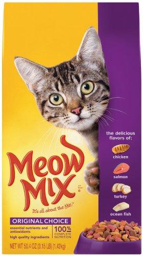 Meow Mix Original, 3.15-Pound (Pack of 3), My Pet Supplies