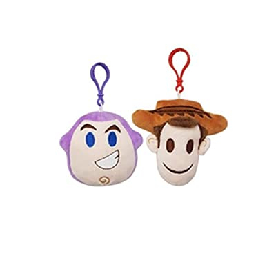 Danawares Backpack Clips Plush- Assorted Buzz & Woody Age/Grade 4+: Toys & Games