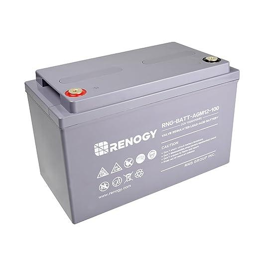 Amazon.com: Renogy batería AGM de ciclo profundo ...