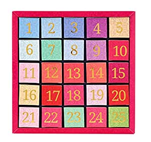 English Tea Shop Nylon Pyramid Numerical Advent Calendar