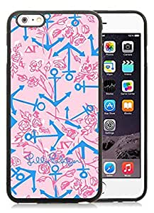 iPhone 6 Plus 5.5 inch Lilly Pulitzer 33 Black TPU Phone GMNBVZX Case Unique and Luxury Design