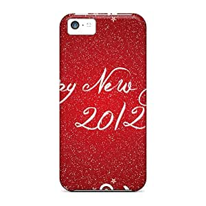 New Premium Casecover88 Happy New Year 2012 Skin Cases Covers Excellent Fitted For Iphone 5c