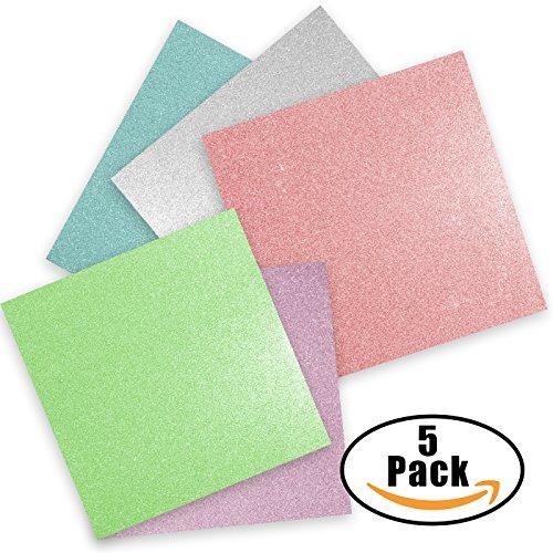 Glitter Vinyl Self Adhesive Vinyl Sheets 12