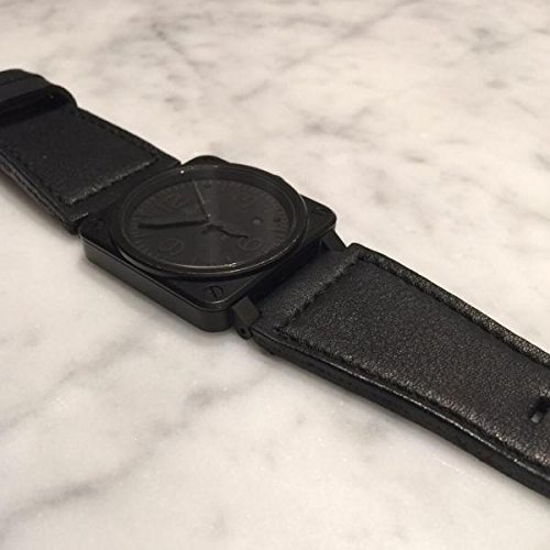 Custom Handmade Premium Calf Leather Watch Band for BR Bell and Ross Gunny Straps - 317 BR Serie by Gunny Store