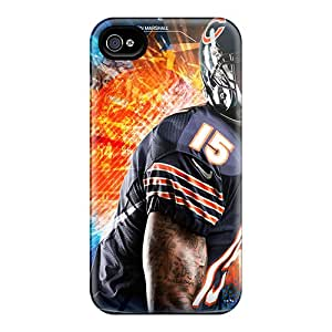 New Fashion Premium Tpu Case Cover For Iphone 4/4s - Chicago Bears