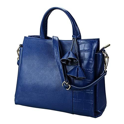 Blu Women's Houyazhan Blue Shoulder Bags colore Royal pwPCq8c