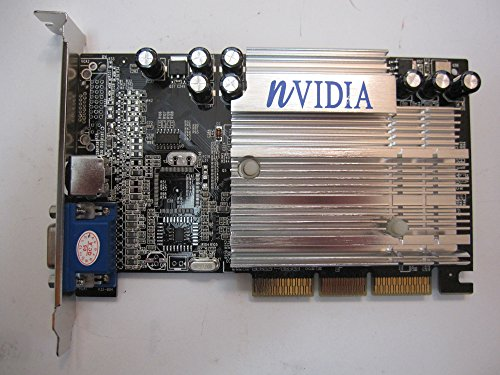 (in BOX Nvidia Geforce 4 mx440 mx-440 128MB 128 MB AGP 4x/8x Video Graphics Adapter VGA/S-Video Out)