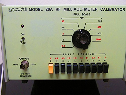 Boonton 26A Rf Millivoltmeter Calibrator (Tested)