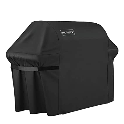 Amazon.com: homitt Grill Cover, 600d Heavy Duty Grill Cover ...