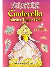 Glitter Cinderella Sticker Paper Doll