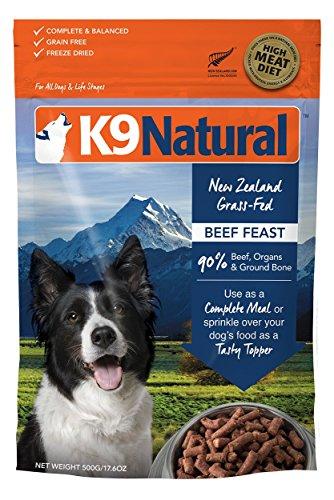 K9 Natural/Feline Natural Freeze Dried Pet Food, 1.1-Pound, Beef