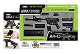 GoatGuns Miniature AR15 Model Toy Black | 1:3 Scale