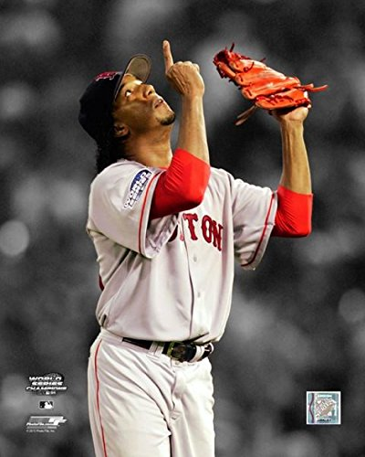 2004 World Series Pictures (Pedro Martinez Game 3 of the 2004 World Series Spotlight Action Photo Print (8 x 10))