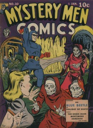 Mystery Men Comics #30 (Illustrated) (Golden Age Preservation - Paul Frames Frank