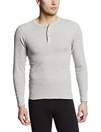 Hanes Men's X-Temp Thermal Longsleeve Henley Top