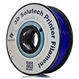 3D Solutech Navy Blue 1.75mm ABS 3D Printer Filament 2.2 LBS (1.0KG) – 100% USA
