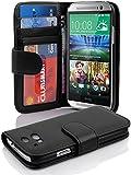 Cadorabo DE-101584 HTC ONE M8 (2nd Gen.) Oxide Case Black