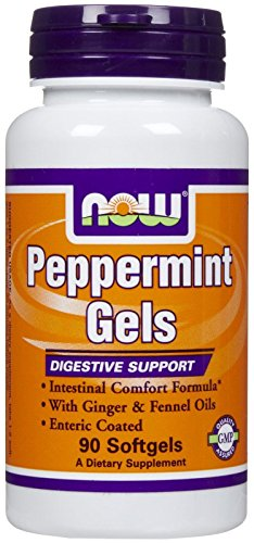 NOW Peppermint Ginger Fennel Softgels