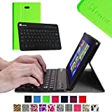 Fintie Blade X1 Dell Venue 8 Pro (Windows 8.1) Keyboard Case – Ultra Slim Shell Stand Cover with Magnetically Detachable Wireless Bluetooth Keyboard (Only Fit DELL Venue 8 Pro Windows 8.1 tablet) – Green, Best Gadgets