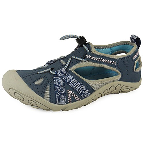 LoudLook New Ladies Womens Girls Lace Up Flat Walking Jogging Running Trainers Shoes Size 3-8 UK Blue PaxhRHwvi