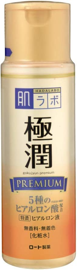 Hadalabo JAPAN Skin Institute Gokujun premium hyaluronic solution 170mL by Hada Labo