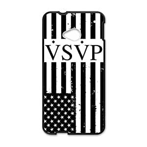 US. Flag VSVP Cell Phone Case for HTC One M7 by Maris's Diary