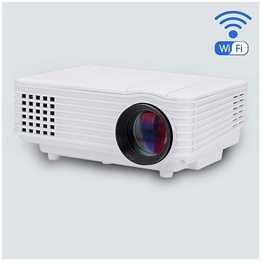 Link Co Proyector de Video casero HD Dispositivo Inteligente WiFi ...