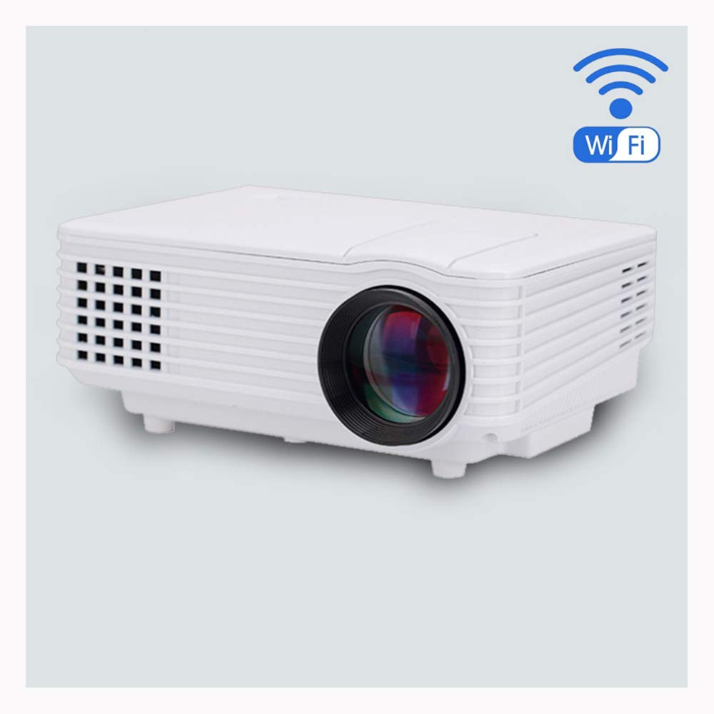 Link Co Proyector de Video casero HD Dispositivo Inteligente WiFi ...