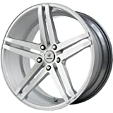 """Verde Custom Wheels Parallax Silver Wheel with Machined Face (19x8.5""""/5x120mm)"""