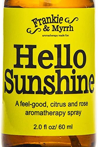 Hello Sunshine - A Bergamot, Lemon, Rose Aromatherapy Spray for Anxiety, Stress, Relaxation