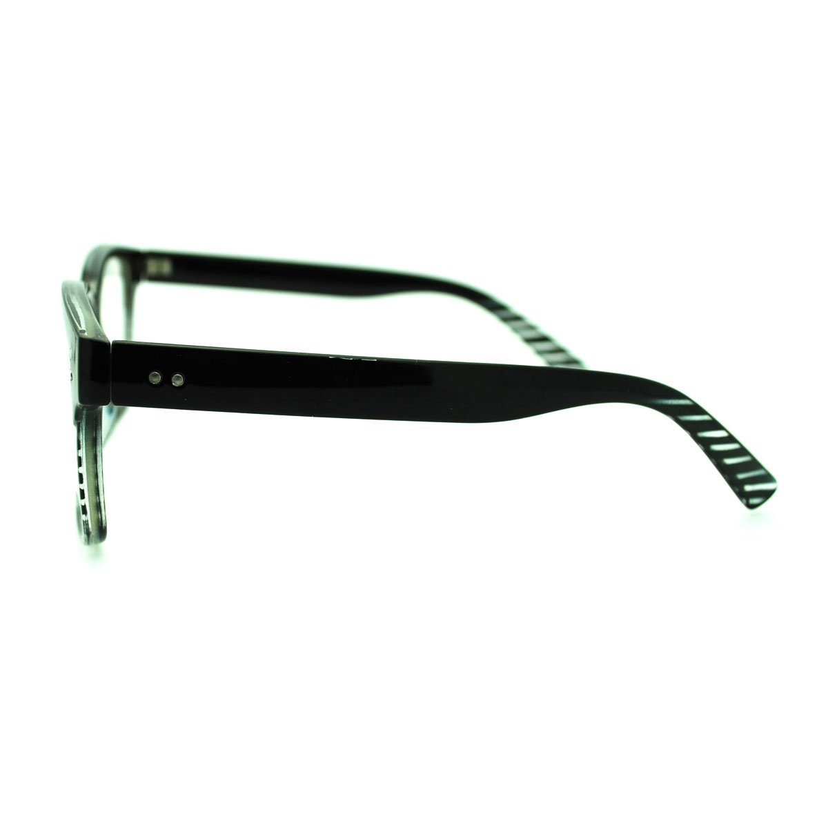 Clear Lens Eyeglasses Square Thin Frame Nerdy Fashion Glasses