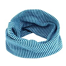 ABC® Children Scarf, Winter Baby Kids Neck Warmer Colors Stitching O-ring Scarf Knit Woolen Scarf