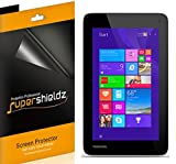 [3-Pack] Supershieldz- Anti-Bubble High Definition Clear Screen Protector For Toshiba Encore Mini (WT7-C16) + Lifetime Replacements Warranty [3-PACK] - Retail Packaging