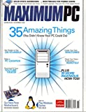 img - for Maximum Pc, November 2008 Issue book / textbook / text book