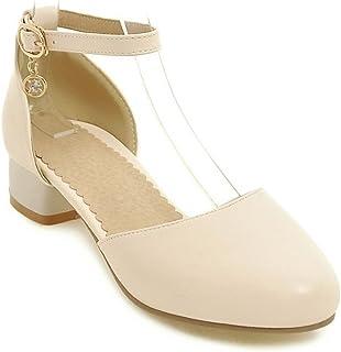 BAJIAN-LI haute Heelswomen Sandales, été Haut talons Bas Chaussures Chaussures Sandales Tongs pour femme