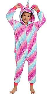 Amazon.com: Disfraz de unicornio unisex de una pieza, para ...