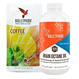 Bulletproof Intro Kit (Amazon Exclusive) 12oz Ground Coffee, 16oz Brain Octane