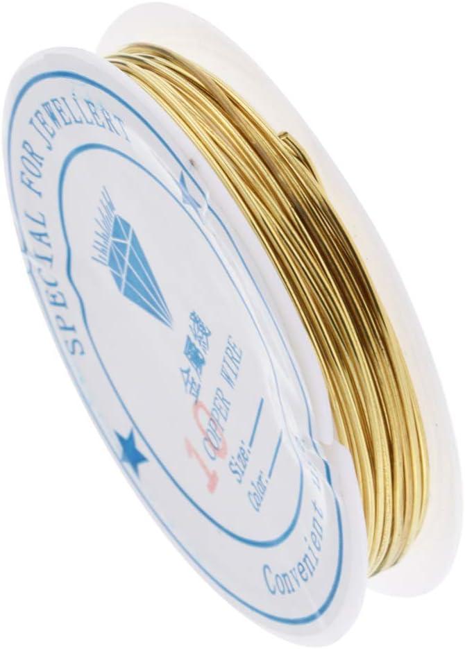El Hilo De Oro De La Joyer/ía Que Rebordea Ata Los Alambres De Cobre para La Fuente De Fabricaci/ón De La Joyer/ía 0.25 mm