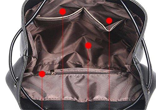 Universitaire Filles Style Voyages Ladies Loisirs Bag Enfants présent Double Shoulder Trois BeiBao Couleurs Shopping cWS6zqXq