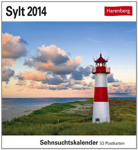 Sylt 2014: Sehnsuchts-Kalender. 53 heraustrennbare Farbpostkarten